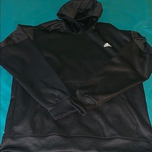 Black adidas fleece hoodie